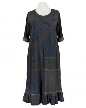 Sweat Kleid mit Print, grau von Vincenzo