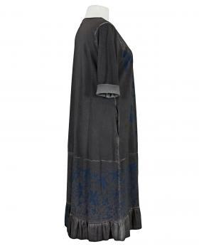 Sweat Kleid mit Print, grau