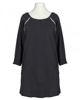 Sweatshirt mit Pailletten, schwarz von RESTART