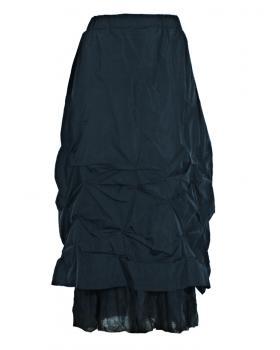 Taftrock gerafft, blau von Zedd