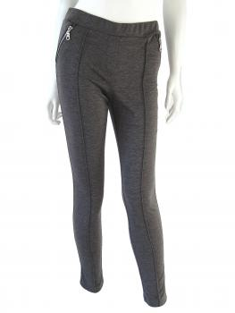 Treggings, grau melange