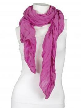 Tuch aus Baumwolle, pink (Bild 1)