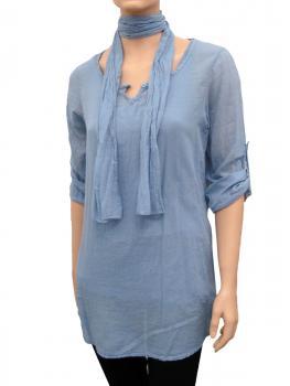 Tunika Bluse 3-tlg., blau von RESTART von RESTART