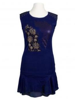 Tunika Kleid, blau von Exquiss's Paris