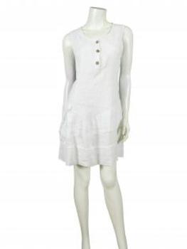 TunikaKleid aus Leinen, weiss (Bild 2)