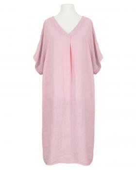 Tunika Kleid Leinen, rosa (Bild 1)