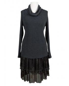 Tunika Kleid mit Seide, grau von Diana (Bild 1)