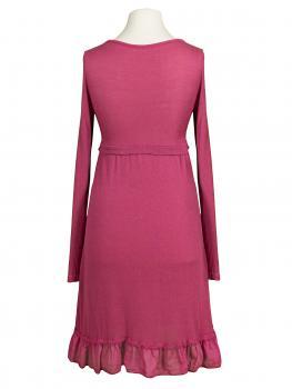 Tunika Kleid mit Volant, beere (Bild 2)