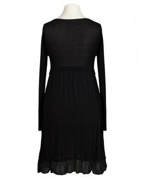 Tunika Kleid mit Volant, schwarz (Bild 2)