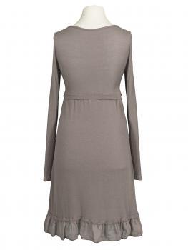 Tunika Kleid mit Volant, taupe (Bild 2)