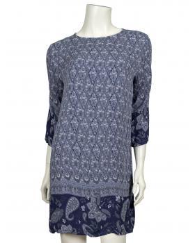 Tunika mit Paisley Print, blau (Bild 1)