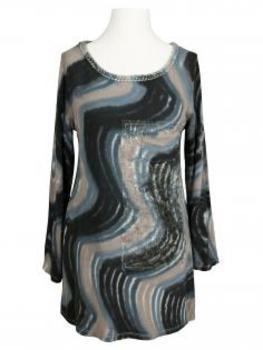 Damen Feinstrick Shirt, multicolor