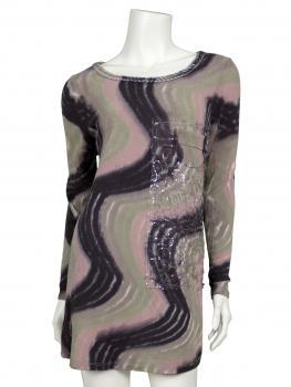 Shirt Feinstrick, multicolor von Spaziodonna