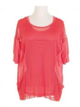 Tunika Shirt 2-tlg., koralle