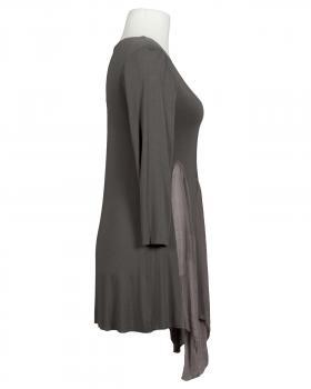 Tunika Shirt mit Seide, braun (Bild 2)