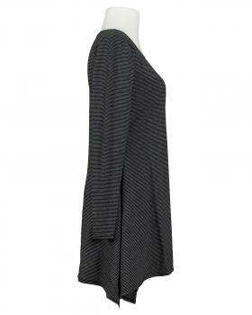 Tunika Shirt Streifen, schwarz (Bild 2)
