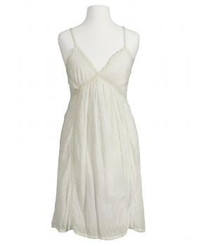 Tunika Top mit Spitze, naturweiss von Fashion Elle