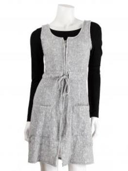 Tunika Kleid, grau (Bild 1)