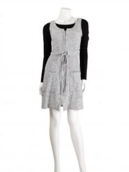 Tunika Kleid, grau