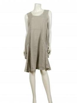 Tunika Kleid Leinen, beige (Bild 2)