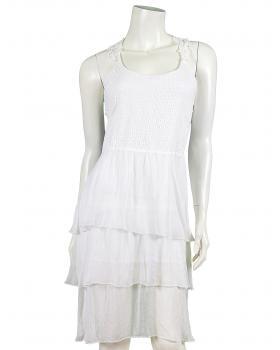 Kleid mit Häkelspitze, weiss von Spaziodonna von Spaziodonna