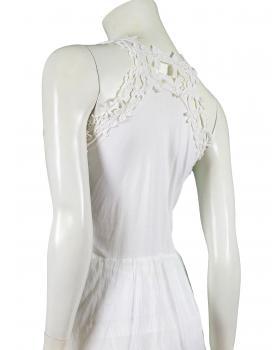 Kleid mit Häkelspitze, weiss (Bild 2)