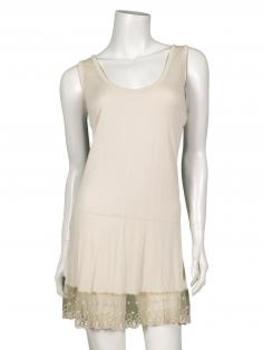 Unterkleid mit Spitze, beige (Bild 1)