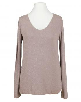 Viskose Shirt Lurex, rosa