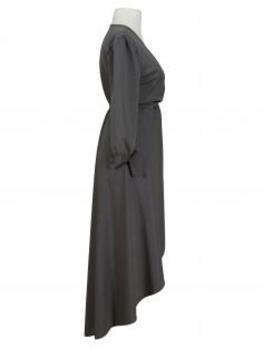Wickelkleid Jersey, grau (Bild 2)