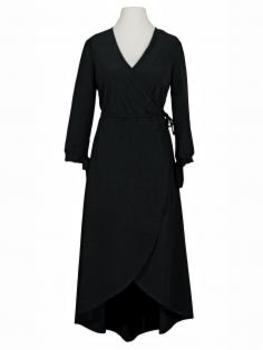 Wickelkleid Jersey, schwarz von Diana