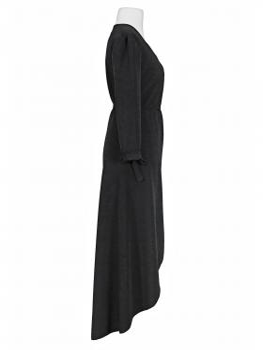 Wickelkleid Jersey, schwarz